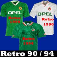 Таиланд 1990 1992 Ирландия Ретро Футбол Футбол футболка Ирландия Ирландия Национальная команда 90 Кубок мира Зеленый белый