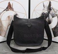 Saco de Bolsa de Bolsa Interessante Calfskin Mulheres Evelyn E5, Bolsas Designer GM Genuine Leather Marcas Famosas Marcas Evelyne Crossbody Bags