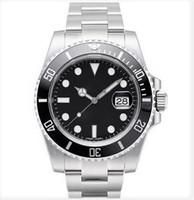 Мужские часы Sapphire стекло 116610 керамическая рамка 40 мм 2813 перемещение автоматические механические часы из нержавеющей стали водонепроницаемый
