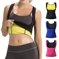ccbcbcbea25 New Arrival. Sports Fitness Cami Vest Hot Exercise Shapers Tops Training  Sweat Sleeveless Shirt Neoprene ...