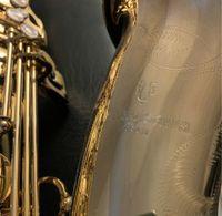 Yanagisawa T-901 BB TUNE B Brass Brass Tenor Sassofono Strumento musical Strumento di alta qualità Lacca in oro sax con accessori Cassa del boccaglio