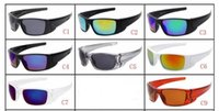 10 색 여름 사이클링 새로운 핫 망 브랜드 야외 스포츠 선글라스 패션 디자이너 클래식 현혹 컬러 안경 안경