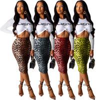 Frauen sexy zwei stück kleider frühling sommer kleidung mode leopard druck röcke anzug langarm t shirt bodycon röcke neue stil frei 2642