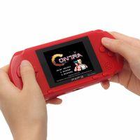 휴대용 16 비트 PXP3 핸드 헬드 게임 콘솔 미니 게임 기계 게임 플레이어 제품과 함께 어린이 선물을위한 156 개 고전 게임