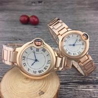 Vendita superiore del fashoin uomini e le donne di marca guarda la vigilanza amante cinturino in acciaio inossidabile di alta qualità delle donne designer clock vestono la vigilanza miglior regalo