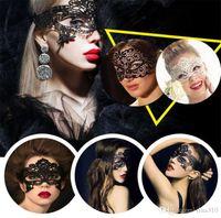 Новые выдалбливают модные кружевные маски верхнее лицо полые сексуальные маски для вечеринок танец таинственные маски ночной клуб бар маска A0186