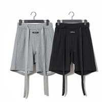 Mens Fashion High Street Brand Loose Short Pants Solid FOG 6th Casual Short Pants Male Breathable Clothing
