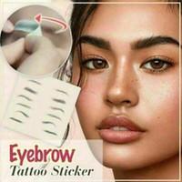 매직 4D 헤어처럼 눈썹 문신 스티커 거짓 눈썹 방수 라스팅 메이크업 수성 아이 브로우 스티커 RRA3097