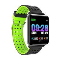 M19 Smart-Armband Fitness Tracker Blut-Sauerstoff-Blutdruck-Sport-Puls-Monitor-wasserdichte intelligente Armbanduhr für iPhone und Android