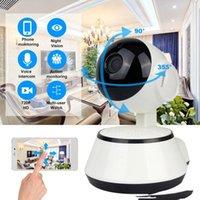 WIFI IP Kamera Gözetim 720 P HD Gece Görüş İki Yönlü Ses Kablosuz Video CCTV Kamera Bebek Monitörü Ev Güvenlik Sistemi