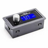 패널 장착 PWM 신호 발생기 XY-PWM1 PWM 주파수 미터 LCD 디스플레이 1Hz ~ 150KHz 펄스 구형파 신호 발생기 미터