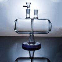 무한 폭포 유리 봉 반전 중력을 살짝 조작 유리 기억 만 독특한 디자인 물 파이프 살짝 적셔 석유 굴착 XL-2061