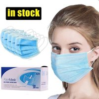 Free DHL Delivery immediately Disposable Face Masks with Ela...