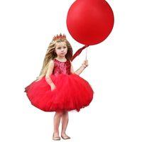 뜨거운 어린이 드레스 스커트 메쉬 거즈 장식 조각 어린이 워시 드레스 캔디 귀여운 소녀 스커트