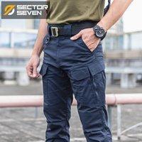 Erkek pantolon sektörü yedi 2021 ix10 taktik su geçirmez silm erkek pantolon rahat erkekler ordu erkek