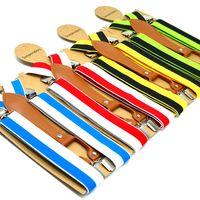 4301345f2368 Women Leopard Braces Bow Tie & Suspenders Set Pokal Dot Suspender ...