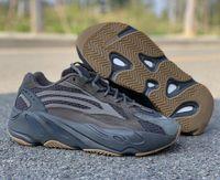 Mais recente moda 700 V2 Geode corredor da onda Designer Homem Athletic Shoes Boa Qualidade 700 Kanye West Brown reflexivos EG6860 formadores com Box