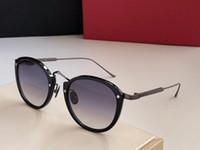 الرجعية Steampunk دائرة جولة خمر ورقي الإطار حتى النظارات الشمسية النساء الرجال نمط الشرير مكبرة المعدن الأسود نظارات شمسية ذكر