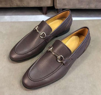 [시킴으로 빨리 박스] 럭셔리의 새로운 남성 옥스포드 신사 웨딩 드레스 송아지 가죽 가죽 신발 크기 38-44에 공식 슬립