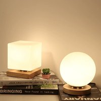 Nordic table lamp bedroom bedside lamp creative romantic war...