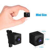 Mini Kamera Küçük Kamera Full HD 1080P Mikro Kamera Gece Görüş Gizli Kamera Hareket Sensörü Mini DVR Kamera