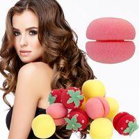 6 pçs / set Curl Balls Set Hair Curler Styling Ferramentas Mousse Rolos de Cabelo Espuma Esponja Estilo Ferramenta Cabeleireiro Acessórios Kits RRA2065