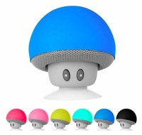 재고! 흡입, 어떤 로고, 색상, 사용 가능한 포장으로 휴대 전화 미니 스피커 버섯. 순서에 오신 것을 환영합니다! (30)