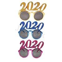 2020 Количество фото Prop очки Flash-порошок Пластиковые очки Новый год Взрослые Дети очки для партии украшения Подарки DA112