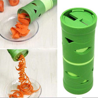 Handmatige multifunctionele plantaardige fruit komkommer carrot draaien snijder spiraal slicer spiraalizer verwerkingsapparaat