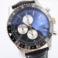 Luxury Wristwatch BR 24 Superocean Chronograph Quartz Moveme...