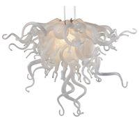 Moderne Pendelleuchten Hand Geblasenes Glas Kronleuchter Kunst Kronleuchter Beleuchtung Restaurant Home Lampe Pendelleuchten Duplex Baulichter