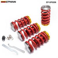 Epman Front and Rear Coilover Sospensione Kit a molla per Honda Civic 02-06 Automobile Accessori sostitutivi EP-SP0206
