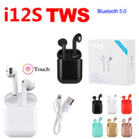 i12S TWS Wireless Bluetooth 5. 0 Earphone Earbuds With Chargi...