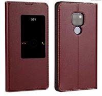 Для Huawei Mate 20 X case оригинальный официальный Huawei mate 20 X флип case Smart touch view window pu кожаный чехол Mate 20x телефон случаях