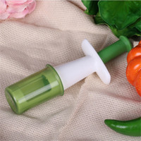 10PCS/LOT Grips Grape Tomato and Cherry Slicer Kitchen Vegetable Fruit Cutter Tools Auxiliary Baby Food Kitchen Cooking Tools OK 1062