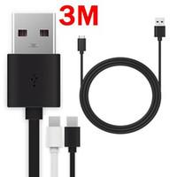 Haute vitesse 1M 2M 3M Chargement rapide 2A Type C micro Câbles USB pour Samsung Galaxy S6 S7 Edge S9 S10 S8 Note 8 9 10 lg