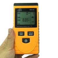 GM3120 Elektromagnetischer Strahlungstester Elektromagnetischer EMF-Magnetischer elektrischer Feld MicroTesla V / M Testerzählerdetektor
