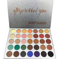 BEAUTY GLAZED 35 Colors Face Makeup Palette Eyeshadow Palett...