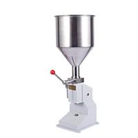 Qihang_top Promotion 5 ~ 50 мл Ручной крем / Paste Наполнение Главная Коммерческая Жидкое Filler машина для мороженого Косметическая мазь