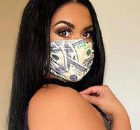 Designer Waschbare Masken Atmungsaktive Buchstaben Gesicht Bandanas Frauen Männer Sonnenschutz Anti-Staub Radfahren Sport Outdoor-Mundmaske