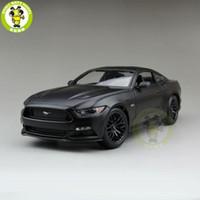 1:18 2015 Ford Mustang GT 5.0 Diecast Auto Modell für Geschenke Sammlung Hobby Mae Black Maisto