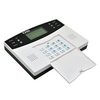 Wireless GSM-SMS-Startseite Einbrecher-Sicherheits-Warnungssystem-Detektor-Sensor-Call (EU-Stecker)