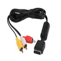 1.8 M Ses Video AV Kablosu PlayStation 2 3 PS3 için Sony PS2 PS3 için RCA'ya