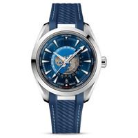 İsviçre Marka En Lüks Erkek Saatler Master Deisgner Su Geçirmez İzle Aqua 8900 Otomatik Hareketi Terra Safir Cam İzle Orijinal Toka