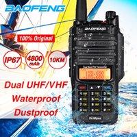 Rádio Baofeng UV9R Além disso Walkie Talkie 10W High Power Two Way Waterproof UV9R Dual Band VHF UHF CB Ham Amateur Radio Transceiver