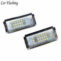 2шт белые светодиодные лицензионные фонари для BMW E46 4D 323i 325i 328i 6000k 12v номерной пластинчатый ламп лампы