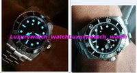Luxury Watch Box Black Dial Ceramic Bezel 116610 Stainless S...