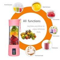 الجملة المنزلية عصارة مصغرة آلة عصير المحمولة عصير الكهربائية USB كأس الفاكهة القابلة لإعادة الشحن كوب عصير