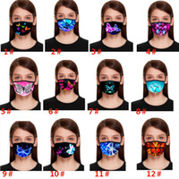 Colorful 3D Print Designer Mask For Butterfly Pattern Mouth ...