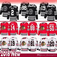 Mens New 19 Jonathan Toews 88 Patrick Kane Chicago BlackHawks Jersey 2 Duncan Keith 14 Richard Panik 20 Brandon Saad 50 Corey Crawford Hossa